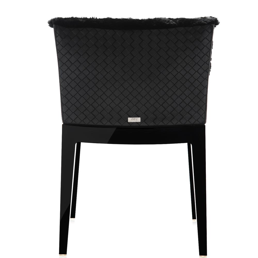 kartell mademoiselle kravitz leder schwarz stuhl sessel. Black Bedroom Furniture Sets. Home Design Ideas