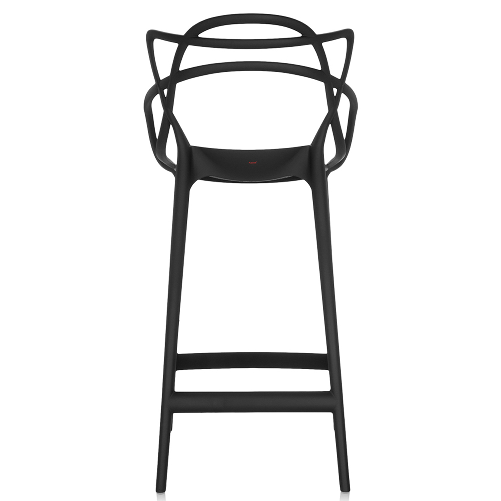 Kartell Barhocker kartell masters stool barhocker schwarz sitzhöhe 75 cm philippe starck