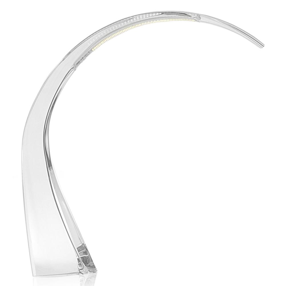 kartell taj glasklar leuchte schreibtischlampe ferruccio laviani design. Black Bedroom Furniture Sets. Home Design Ideas
