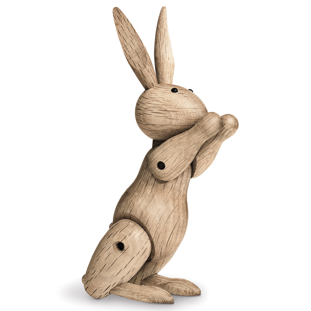 Kay bojesen kaninchen tierfigur deko eichenholz hase rosendahl - Wohnung rosendahl ...