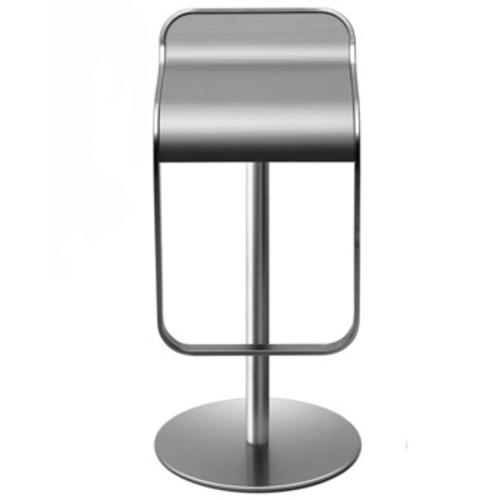 lem barhocker laminat lapalma wei aluminium sitzhocker design. Black Bedroom Furniture Sets. Home Design Ideas