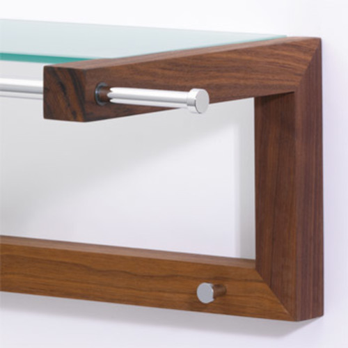 pieperconcept lisboa garderobe nussbaum hutablage. Black Bedroom Furniture Sets. Home Design Ideas