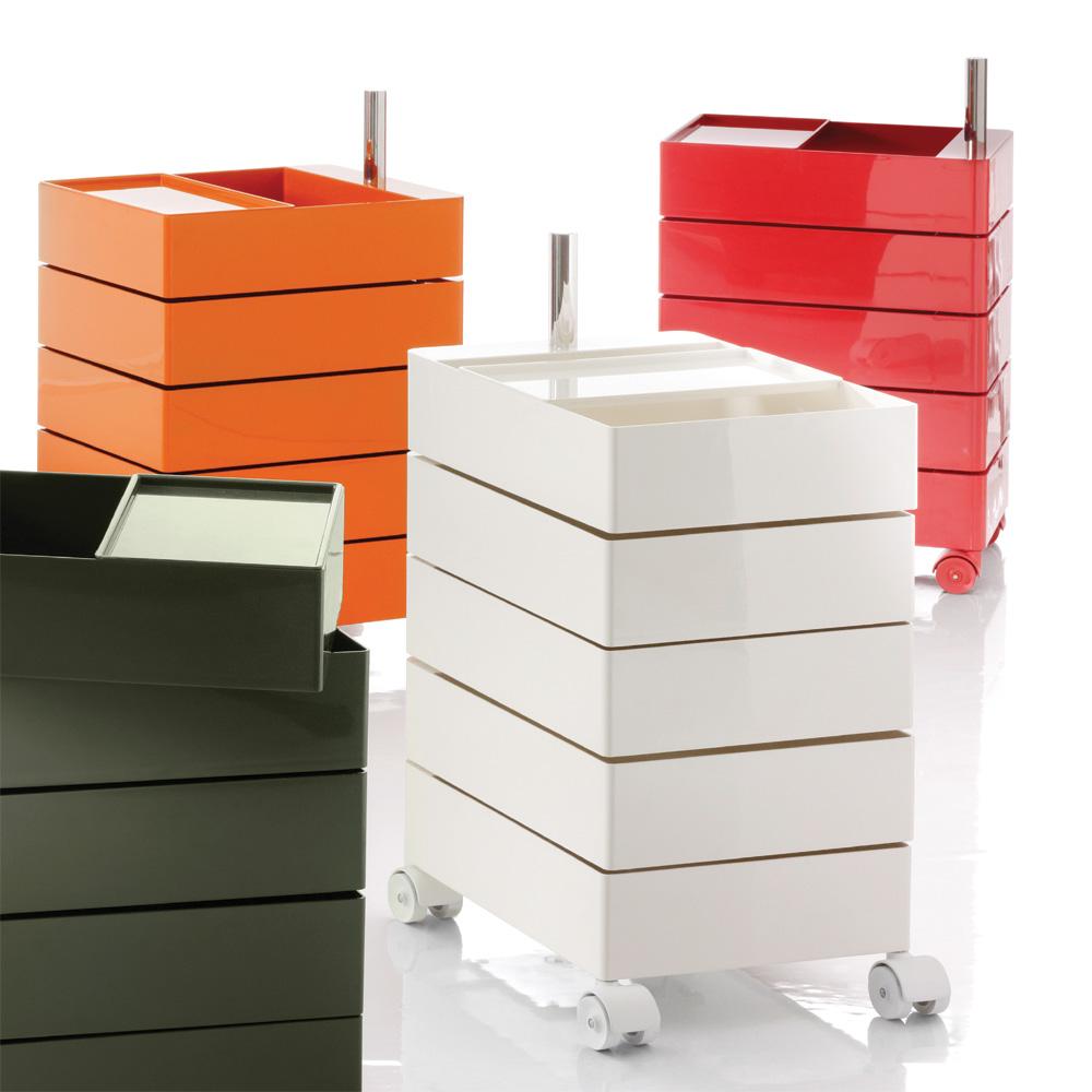 Magis 360 grad container rot 5 schubk sten schuf cher for Magis 360 container
