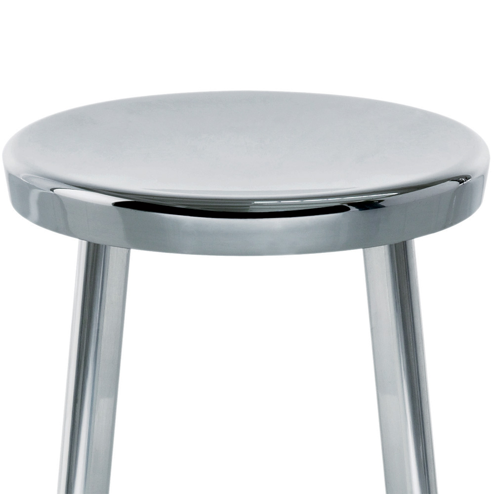 magis deja vu stool hocker aluminium h he 50 cm naoto fukasawa poliert. Black Bedroom Furniture Sets. Home Design Ideas