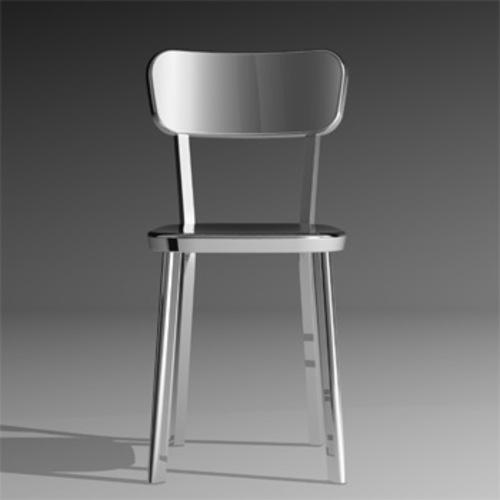 Magis deja vu chair stuhl aluminium schwarz r ckenlehne for Magis deja vu