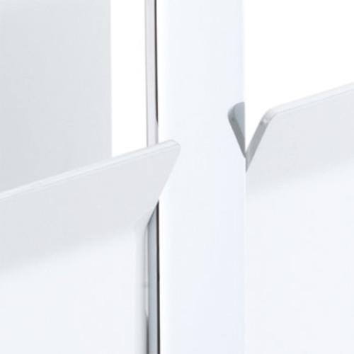 pieperconcept monro zeitungsablage wei zeitschriftenst nder design. Black Bedroom Furniture Sets. Home Design Ideas
