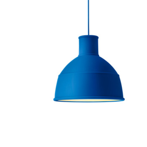 Unfold Pendant Blue / Pendelleuchte Blau - Muuto - Form Us With Love Deckenleuchte