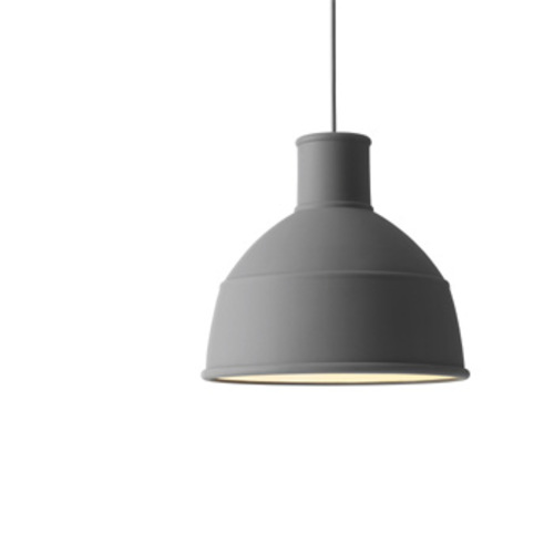 Unfold Pendant Grey / Pendelleuchte Grau - Muuto - Form Us With Love Deckenleuchte