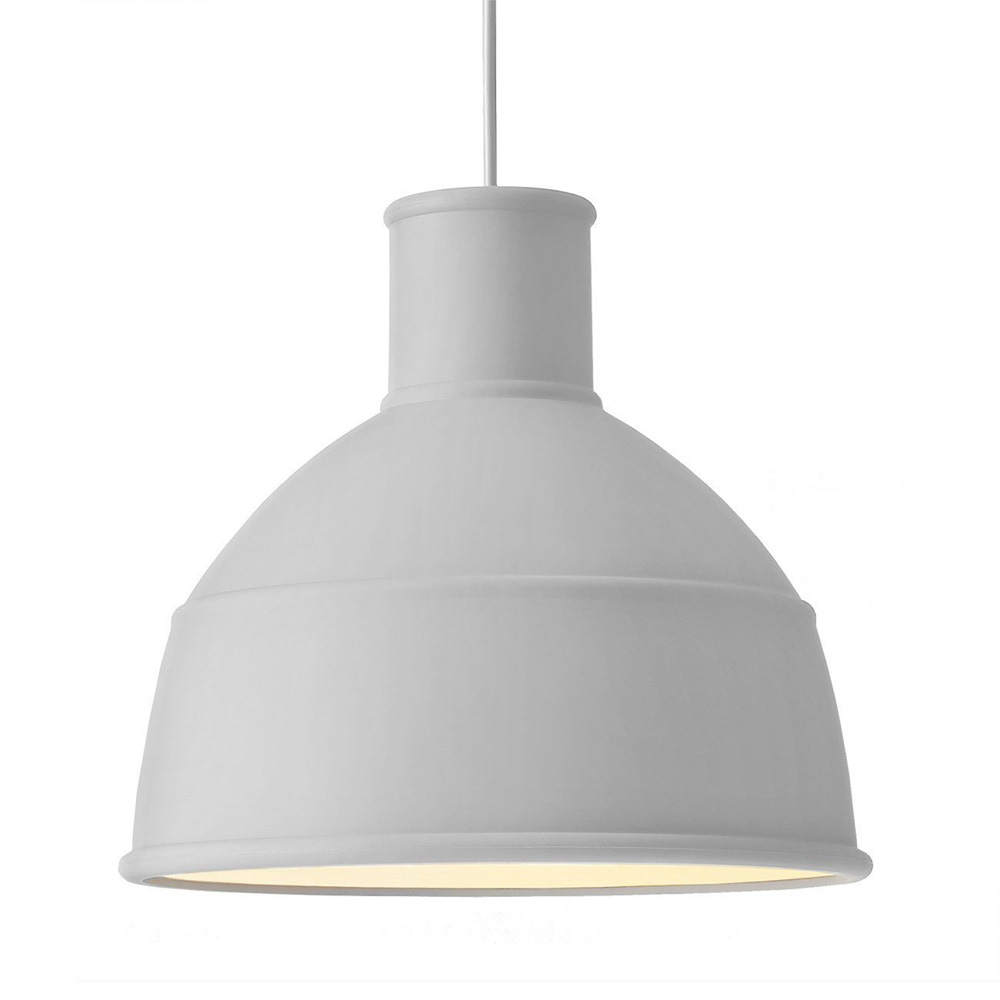Unfold Pendant Light Grey - Muuto 9006 - Form Us With Love