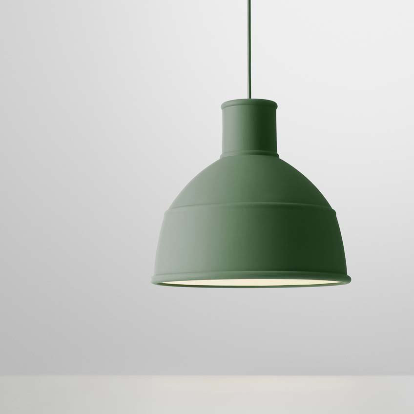 Unfold Pendant Green / Grün - Muuto 9007 - Form Us With Love