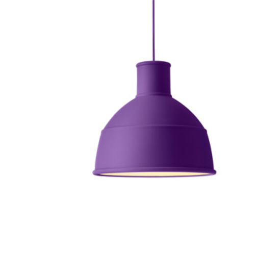Unfold Pendant Purple / Pendelleuchte Lila - Muuto - Form Us With Love Deckenleuchte