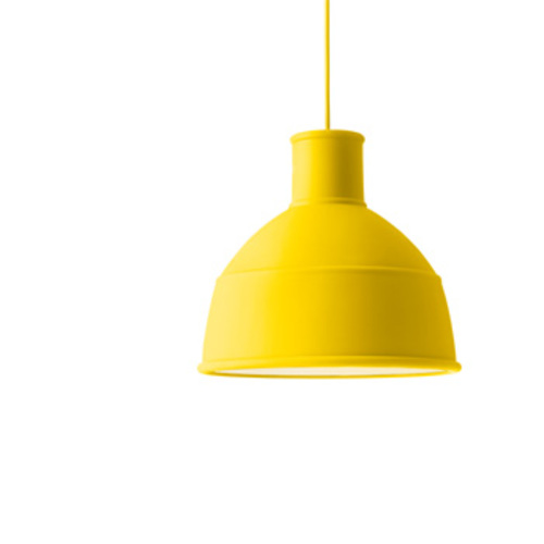 Unfold Pendant Yellow / Pendelleuchte Gelb - Muuto - Form Us With Love Deckenleuchte