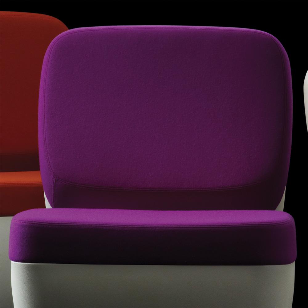magis nimrod stuhl sessel lila marc newson divina 3. Black Bedroom Furniture Sets. Home Design Ideas