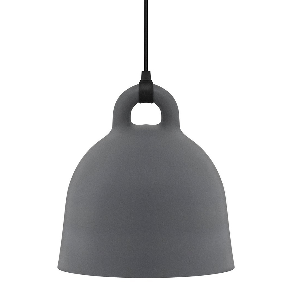 Normann Copenhagen Bell Lamp Small Grey 35 cm Andreas Lund 502110