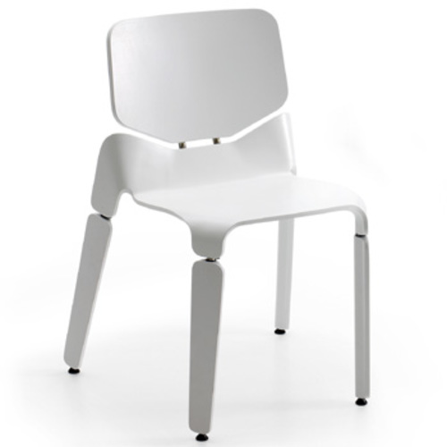 Robo Chair in Weiß - Offecct - Luca Nichetto