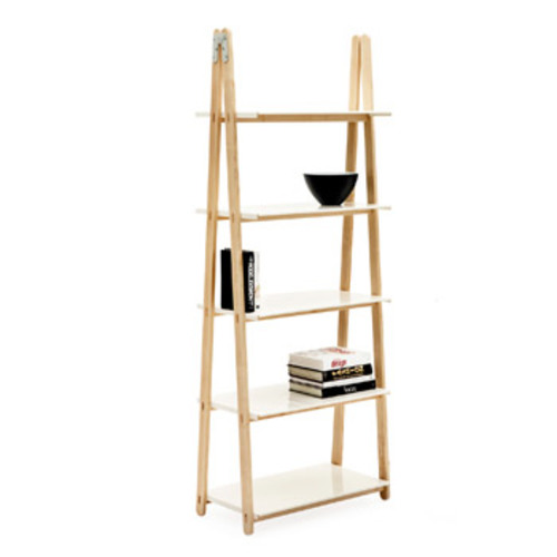 One Step Up Bookcase White - Normann Copenhagen - Francis Cayouette Bücherregal Weiß