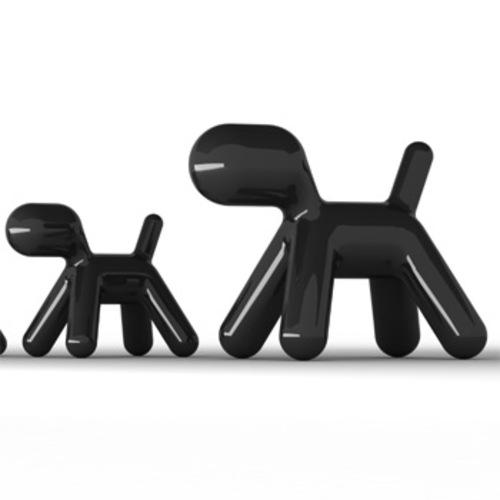 magis puppy abstrakter hund lackiert dekohund kinderhund eero aarnio. Black Bedroom Furniture Sets. Home Design Ideas