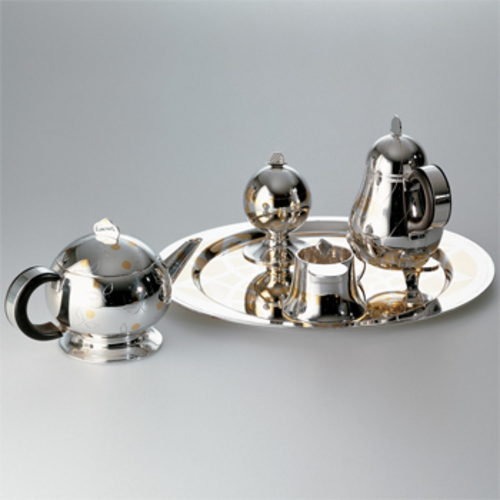 Tea & Coffee Piazza Robert Venturini - Officina Alessi - Robert Venturi Tee & Kaffeeservice