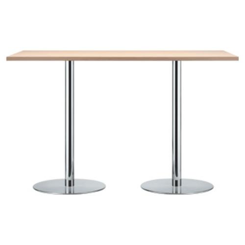beistelltisch glas holz design rollen rund massivholz. Black Bedroom Furniture Sets. Home Design Ideas