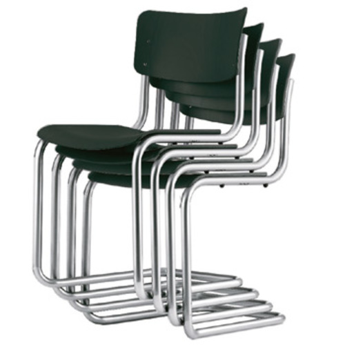 s 43 thonet freischwinger decklackiert bauhausstuhl mart. Black Bedroom Furniture Sets. Home Design Ideas