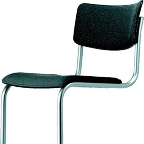 s 43 pvf thonet lederstuhl armlehnen mart stam freischwinger. Black Bedroom Furniture Sets. Home Design Ideas