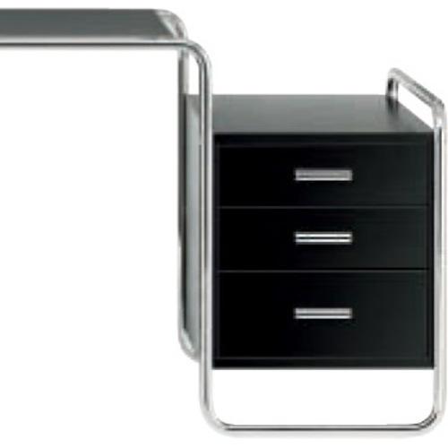 s 285 1 thonet breuer stahlrohr schreibtisch bauhaustisch breuertisch. Black Bedroom Furniture Sets. Home Design Ideas