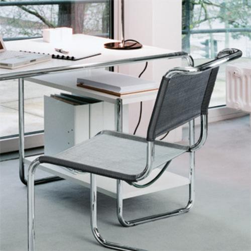 thonet s 285 f stahlrohr klassiker designerschreibtisch. Black Bedroom Furniture Sets. Home Design Ideas