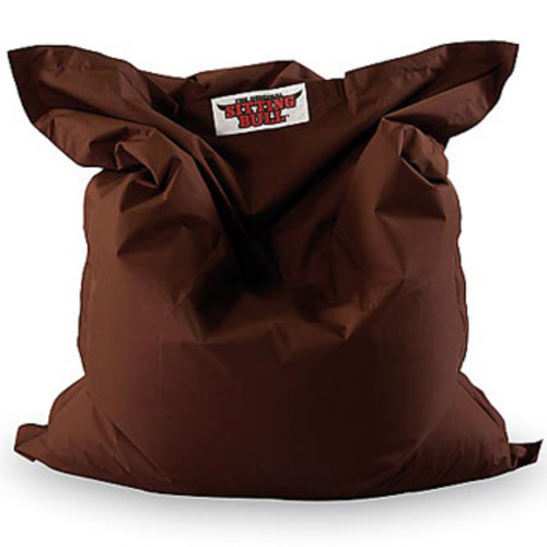 sitting bull dunkelbraun sitzsack sitzkissen bodenkissen brown. Black Bedroom Furniture Sets. Home Design Ideas