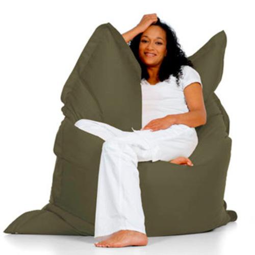 sitting bull sitzsack olive sitzkissen bodenkissen xxl. Black Bedroom Furniture Sets. Home Design Ideas