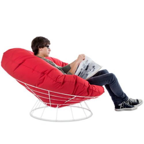 sitting bull bull 39 s nest rot relaxsessel sitzsack outdoor. Black Bedroom Furniture Sets. Home Design Ideas