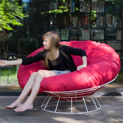 Sitting Bull Bull S Nest Rot Relaxsessel Sitzsack Outdoor Sessel Red