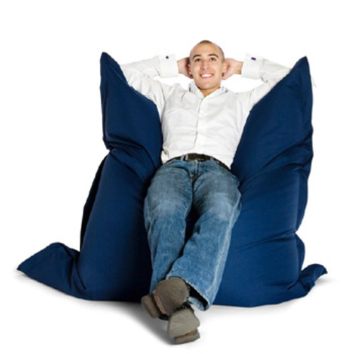 sitting bull outdoor sitzsack dunkelblau dark blue sitzkissen boden. Black Bedroom Furniture Sets. Home Design Ideas