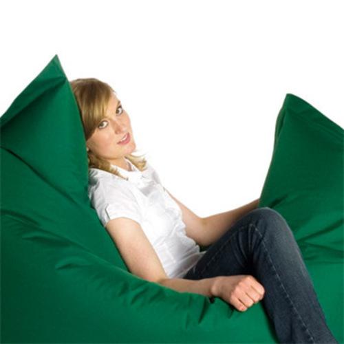 sitting bull outdoor sitzsack dunkelgr n dark green sitzkissen boden. Black Bedroom Furniture Sets. Home Design Ideas