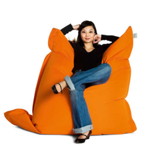 sitting bull outdoor sitzsack orange sitzkissen. Black Bedroom Furniture Sets. Home Design Ideas