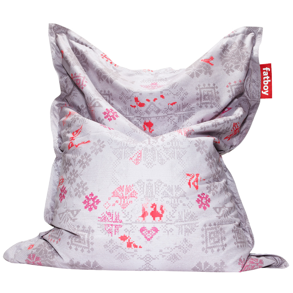 fatboy special big doodle pink sitzsack sitzkissen bodenkissen. Black Bedroom Furniture Sets. Home Design Ideas