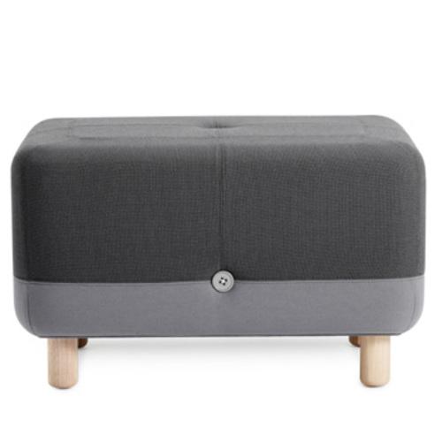 normann copenhagen sumo hocker grau grey simon legald. Black Bedroom Furniture Sets. Home Design Ideas