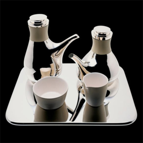 Tea & Coffee Towers David Chipperfield - Officina Alessi - David Chipperfield Tee & Kaffeeservice