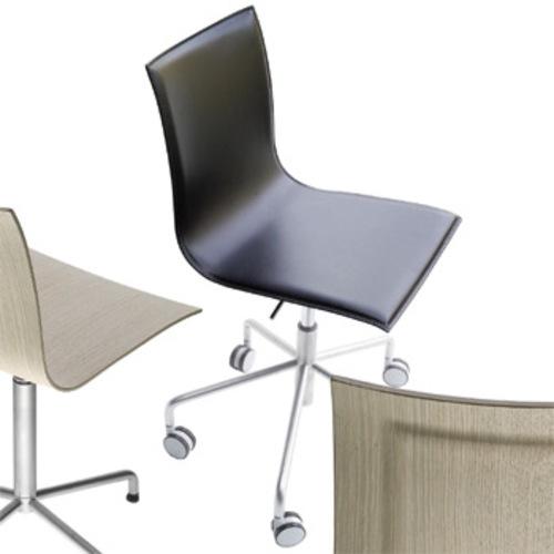 Leder Schreibtischstuhl lapalma thin s20 bürostuhl schreibtischstuhl leder rollen chefsessel