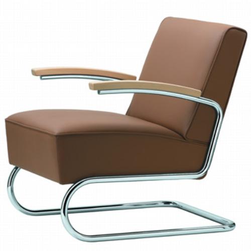 Bauhaus Sessel Klassiker thonet s 411 sessel polstersessel stahlrohrsessel bauhaussessel