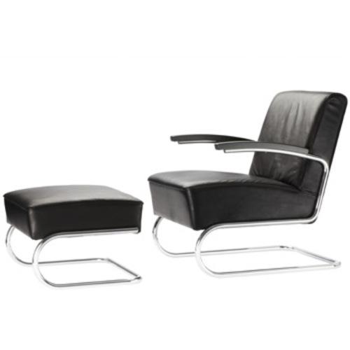 thonet ledersessel williamflooring. Black Bedroom Furniture Sets. Home Design Ideas