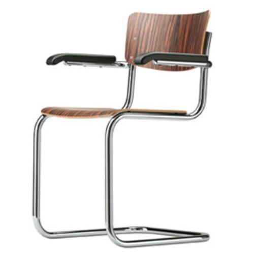 freischwinger stuhl st hle thonet stahlrohr bauhaus. Black Bedroom Furniture Sets. Home Design Ideas