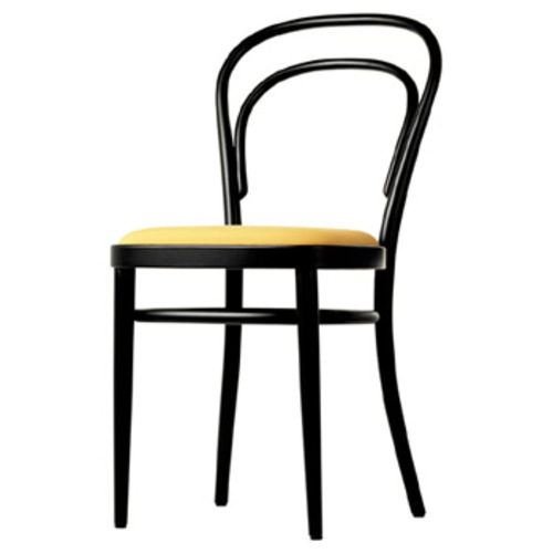 Bugholz Klassiker 214 P mit Stoffpolsterung - Thonet - Michael Thonet
