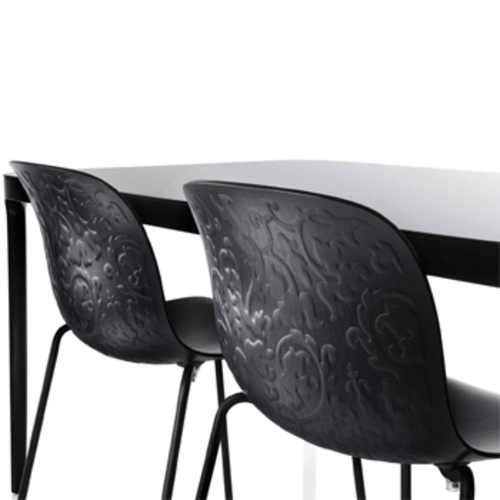 Magis Troy Chair Holzstuhl Marcel Wanders Reliefmuster