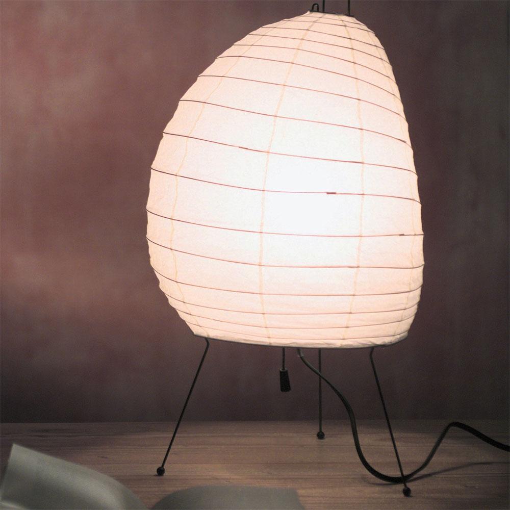 vitra akari 1n tischleuchte isamu noguchi light sculptures 20157201. Black Bedroom Furniture Sets. Home Design Ideas