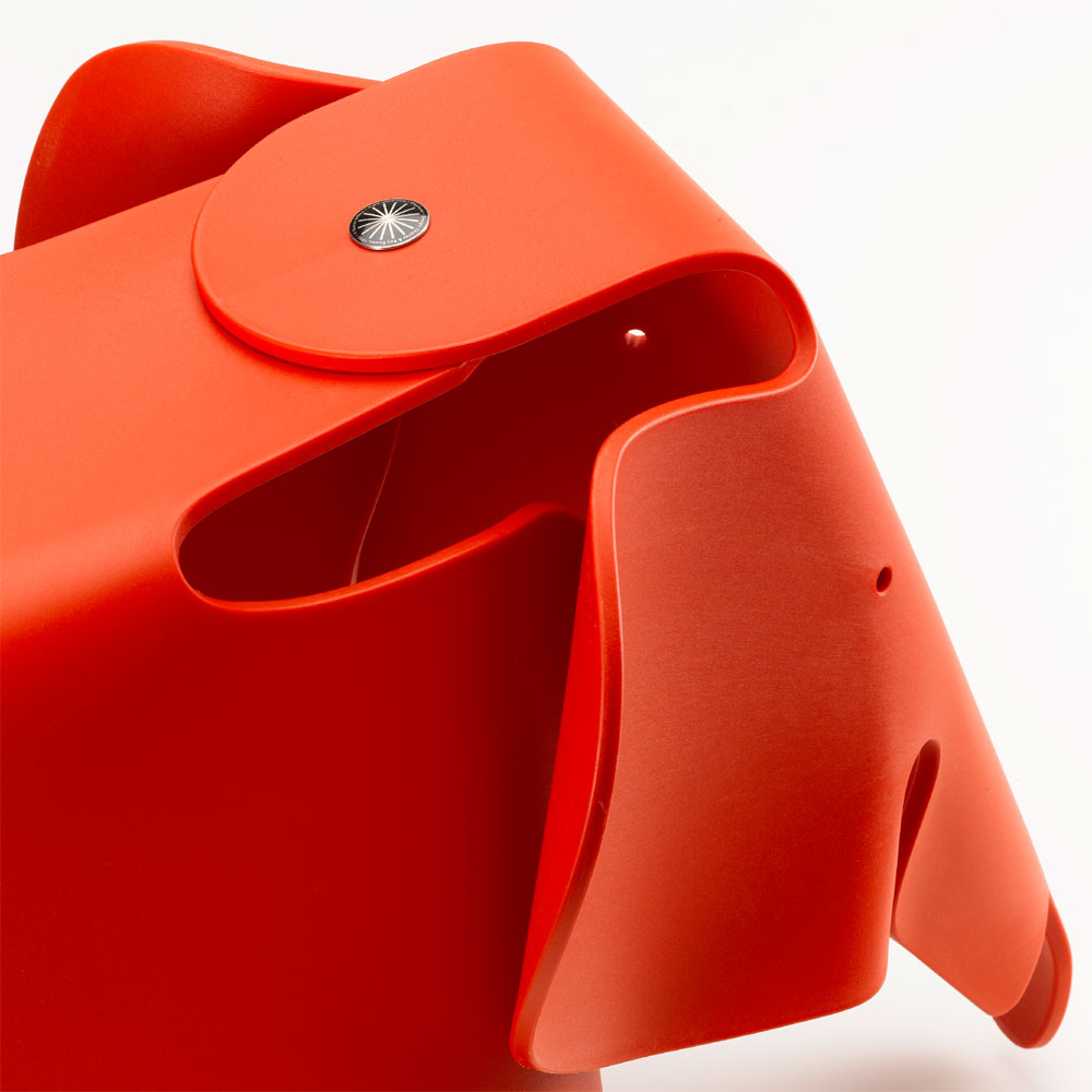 Eames Elephant Red/ Rot - Vitra 215 029 03 - Charles & Ray Eames