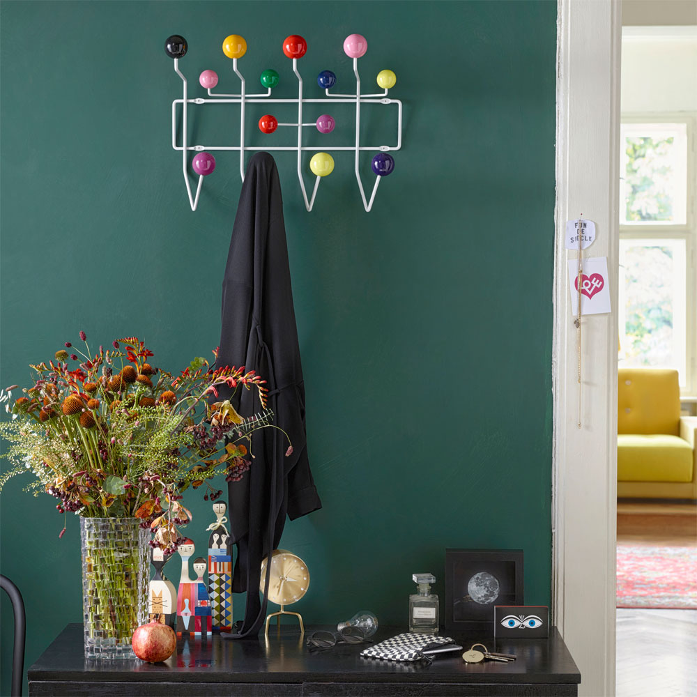 vitra hang it all garderobe mehrfarbig charles eames. Black Bedroom Furniture Sets. Home Design Ideas