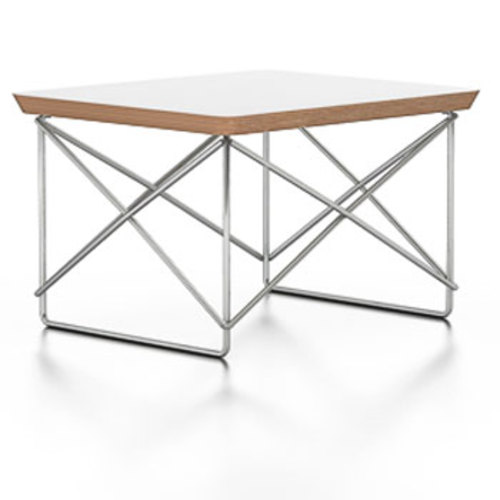 Occasional Table LTR Beistelltisch [Weiß/ Verchromt] - Vitra 201 195 03 - Charles & Ray Eames