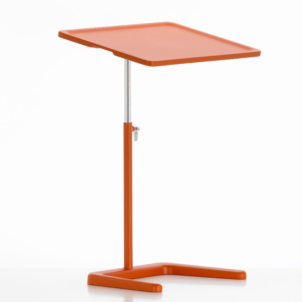 Nes Table Laptoptisch Backstein / Rot-Orange - Vitra 86013016 - Jasper Morrison