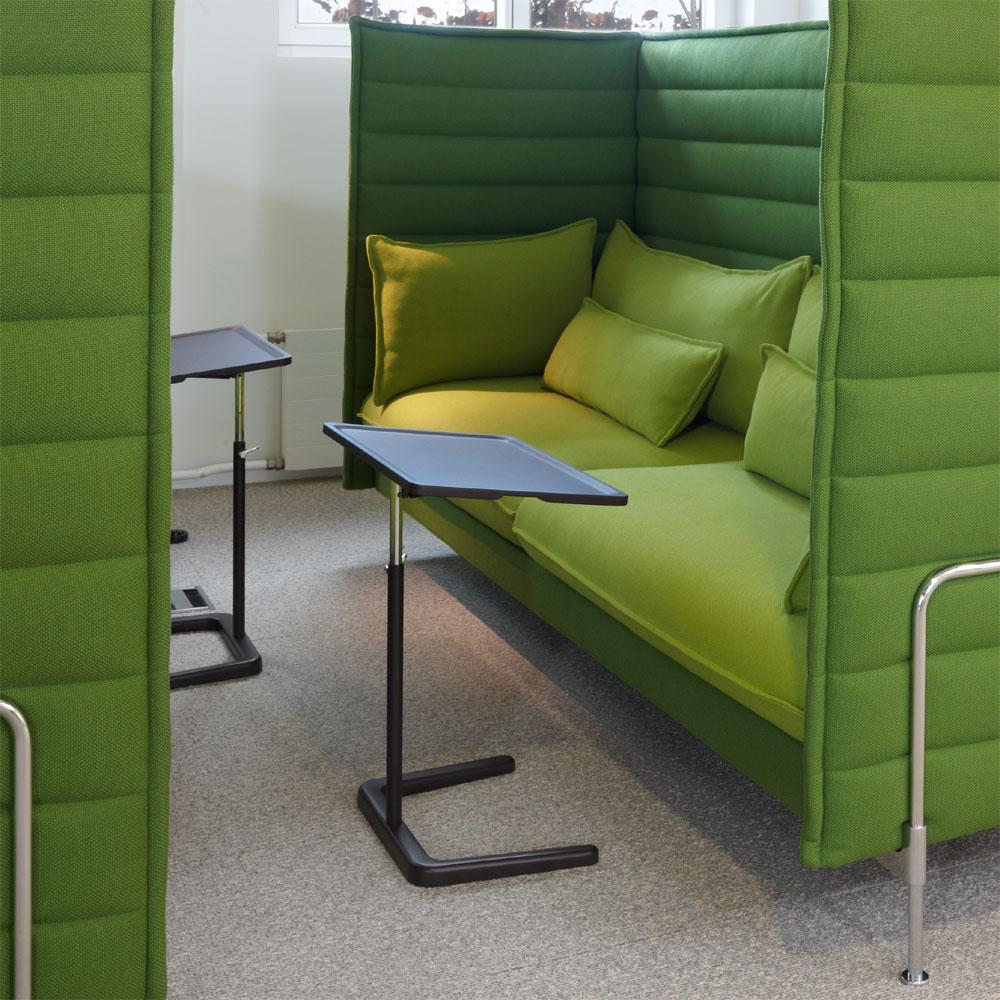 vitra nestable beistelltisch schokolade braun jasper. Black Bedroom Furniture Sets. Home Design Ideas