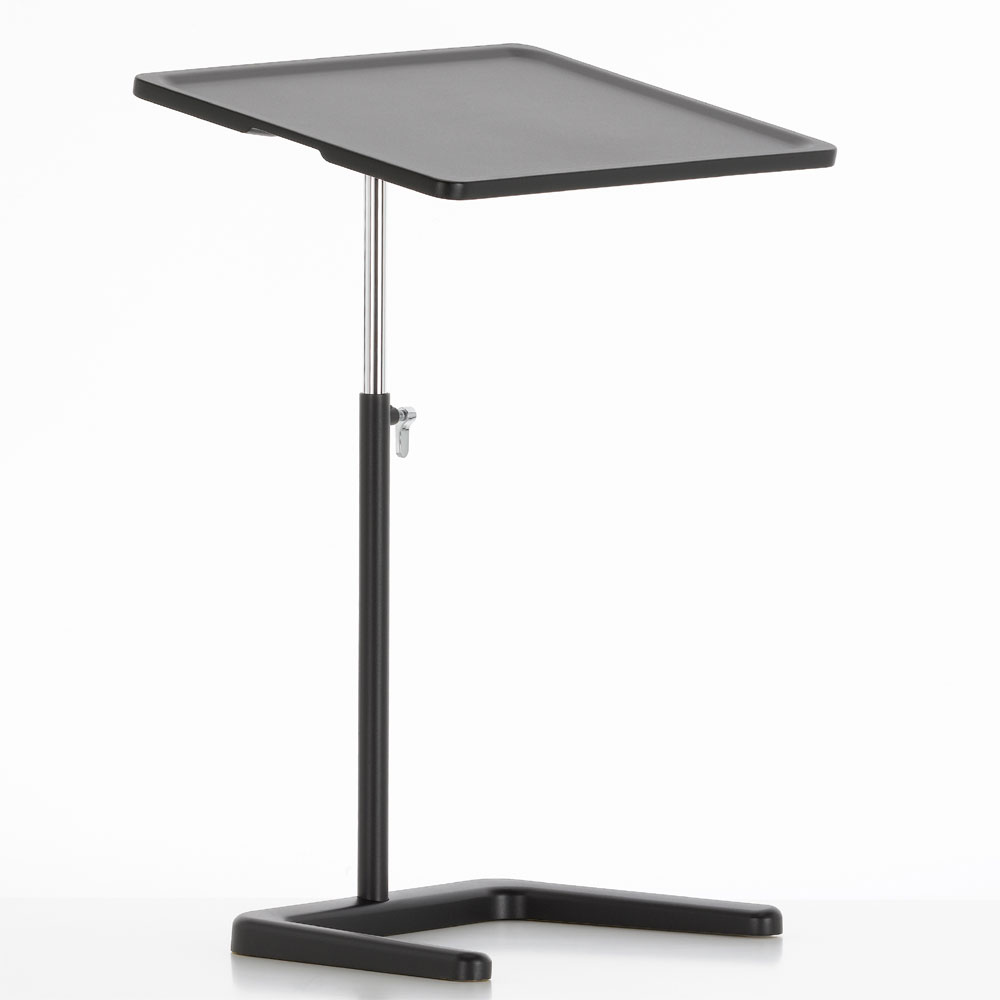 Nes Table Laptoptisch Basic Dark / Schwarz - Vitra 86013014 - Jasper Morrison